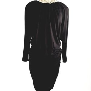Vince Camuto Gold Shoulder Pancil Dress